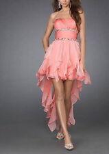 Abito cerimonia donna damigella vestito lungo vestido festa ballo party