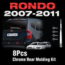 Chrome Rear Molding Kit Trim C278 For KIA RONDO 2007-2011