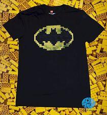 New Lego Batman Logo Movie Mens DC Comics T-Shirt