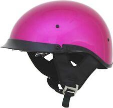 AFX FX-200 FUCHSIA DUAL INNER LENS Half Helmet DOT FREE SHIPPING