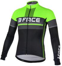 Maglia manica lunga ciclismo Deal giacca leggera felpata giallo verde rosso bici