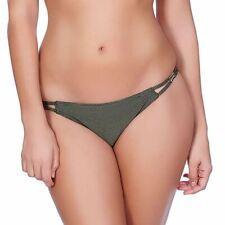 Freya Swimwear Glam Rock Tanga Bikini Brief/Bottoms Olive 3843