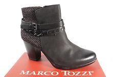 Marco Tozzi 25001 Stivali da Donna, Stivaletti, Stivali Nero Nuovo!