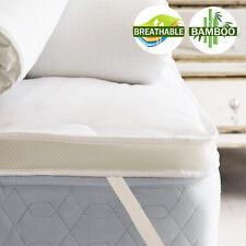 Luxury Comfort 1000GSM Airmax Bamboo Mattress Topper / Mattress Protector 5 Size