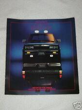 1986 Dodge Ram 50 Truck Automobile Brochure