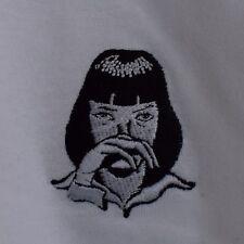 Pulp Fiction X Mia Wallace cocaína Tarantino White Tee T-Shirt por realidad
