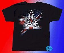 New Def Leppard Union Jack Graphic Retro Men's Vintage Classic 80's T-Shirt