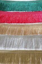 Silky Brosse Frange Plume Style Tassel Trim AMEUBLEMENT rétro dentelle Couture R...