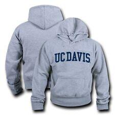 NCAA Davis University of CalifornIa Hoodie Sweatshirt GameDay Fleece HGRY