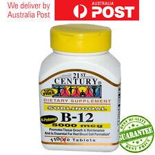 Vitamin B12 Sublingual B-12 5000 mcg 110 or 220 or 440 Tablets