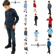 Ralph Lauren Boys Kids Jumper Hoodies Sweatshirt Designer Warm Genuine Real Top