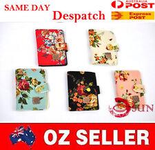 Min 22 Bank Cards Holder Flower Business Name Card Organiser Ladies Wallet Purse