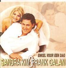 SANDRA KIM & FRANK GALAN - enkel voor een dag CD SINGLE