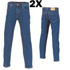 2X - Cotton Denim Jeans Brand New Clothes Work Wear  3317 dnc