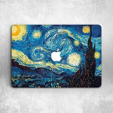 Van Gogh Night Hard Cover Case For Apple Macbook Pro Retina Air 11 12 13 15