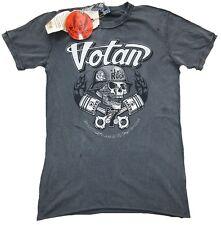 AMPLIFIED VOTAN SKULL Everybody's Ass Tattoo Star ViP Vintage Löcher T-Shirt g.S
