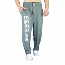 grüne Bodybuilding Gym Fitnesshose Sporthose Freizeithose mit Aufschrift MORDEX