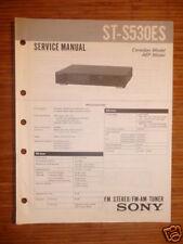 Service Manual für Sony ST-S530ES Tuner,ORIGINAL!