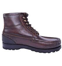 DOLCE & GABBANA Allwetter Siracusa Stiefeletten Schuhe Braun Boots Brown 03827