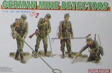KIT DRAGON 1:35 GERMAN SOLDATI MINE DETECTORS 1939-1945 SERIES  6280