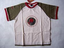 Tee Shirt bébé neuf Umbro taille 18mois - 2ans - 3ans coloris craie kaki rouge