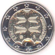 República de Eslovaquia todas euro 2 monedas de curso-todos los años elegir-nuevo