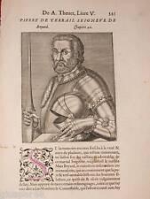 1584.Uomini Illustri.PIERRE DE TERRAIL...A.Thèvet.!