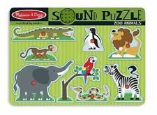 Melissa & Doug Zoo Animals Sound Puzzle 727