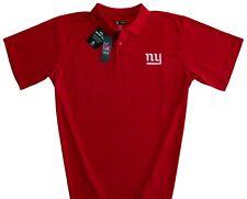 ea9a2119b New York Giants NFL Men s Classic Dri Fit Polo Shirt Red Big   Tall Sizes  NWT
