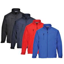 Portwest black, navy, royal blue or red Oregon softshell jacket TK40