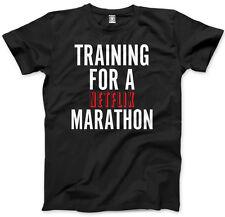 La formazione per una maratona Netflix show televisivo Chill Carino Divertente Bambini & Adolescenti T-shirt