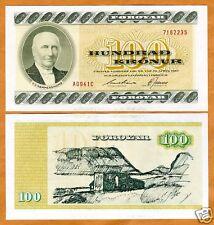 Faeroe Islands, 100 Kronur, (ND) 1994, P-21 (21f), UNC