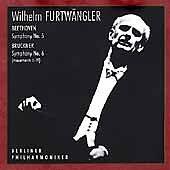 FURTWÄNGLER, WILHELM - SYMPHONY NO. 5, OP. 67/ BRUCKNER: SYMPHO NEW CD