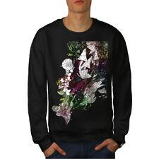 Fantasy Cool Drug Rasta Men Sweatshirt NEW | Wellcoda