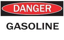 DANGER -GASOLINE / Vinyl Decal / Sticker / Safety Label  PIckA Size