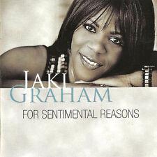 Jaki Graham - For Sentimental Reasons   new   2012   cd