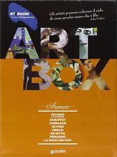 ART BOX ARANCIO aa.vv GIUNTI EDITORE