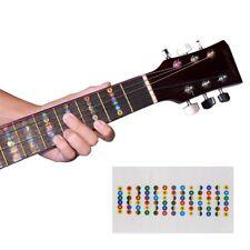 Griffbrett Aufkleber Gitarre lernen Noten Sticker Lernhilfe Tonleiter Anfänger