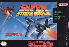 ***SUPER STRIKE EAGLE SNES SUPER NINTENDO GAME COSMETIC WEAR~~~
