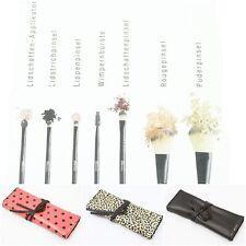 Make-up Pinsel Set 8-teilig Profi Kosmetikpinsel Schminkpinsel mit Tasche