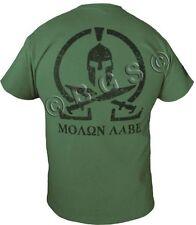 MOLON LABE shirt SPARTAN COME AND TAKE IT THEM OD GREEN SPEC OPS Pro Gun S - 3X