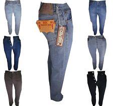 jeans levis 501 uomo w27 28 29 30 31 32 33 Nuvi Pantaloni levi's denim regular