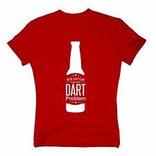 Herren T-Shirt - Mein Saufteam hat ein Dart Problem - Hobby Sport Feiern Party