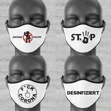 Mund Nase Maske mit lustigen Motiven, verschiedene Motive zur Auswahl