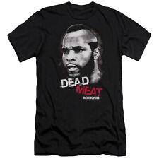 Rocky Iii Dead Meat Mens Premium Slim Fit Shirt