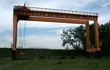 Mi-Jack 800C Travel Lift Mobile Gantry Crane 90k lb Capacity 104 ft b/w Wheels