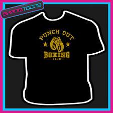 Punch Out Camiseta Boxer club de boxeo