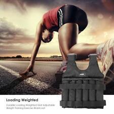 20/50kg Max Loading Fitness Training Jacket Waistcoat Adjustable Weight Vest