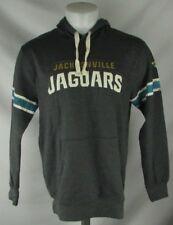 Jacksonville Jaguars Men's Majestic Charcoal Pullover Hooded Sweatshirt NFL S-L