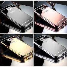 Galaxy S8 Luxus Bumper Samsung Aluminium Spiegel Case Metall Cover Schutz Hülle